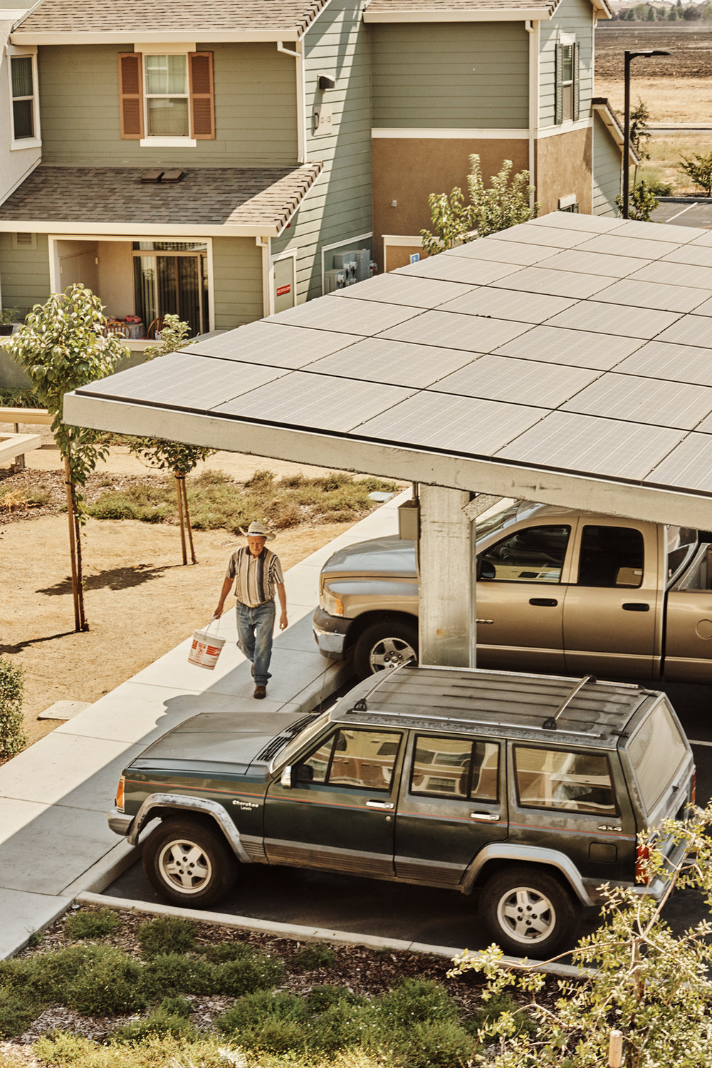 Solar energy in low-income communities for WIRED