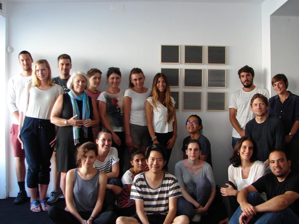 Art.Architecture Workshop 2015 . Kate Beck  .visiting artist (united states)