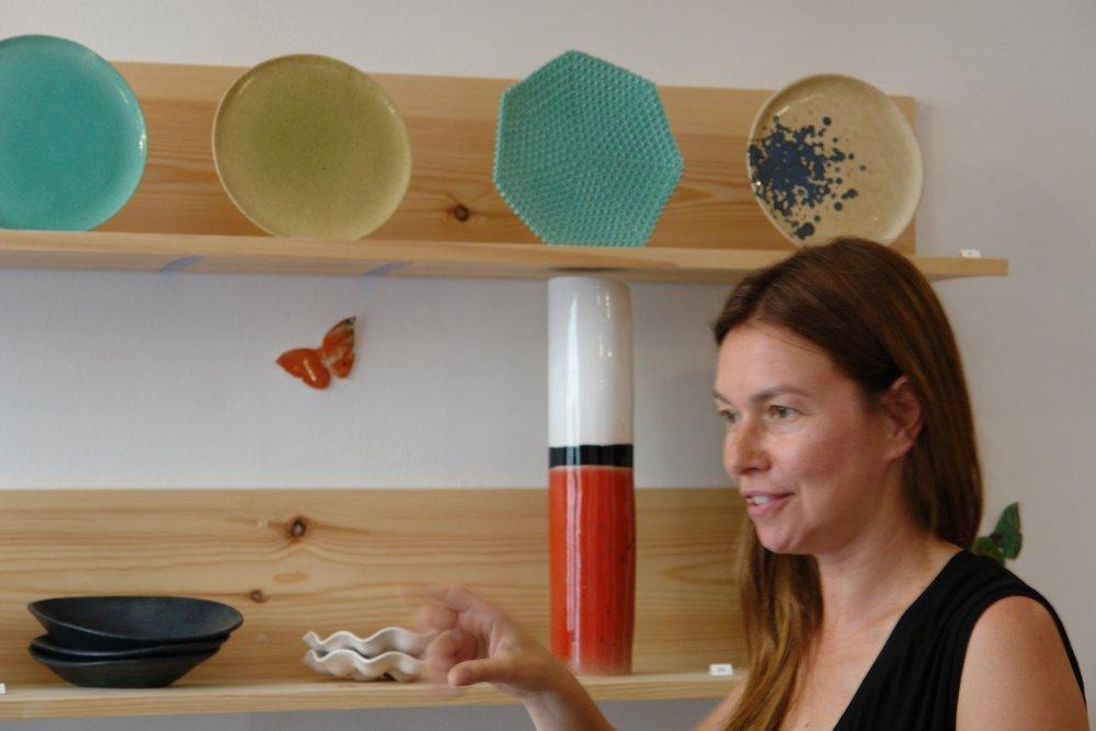 Catia Pessoa  . ceramicist (portugal)