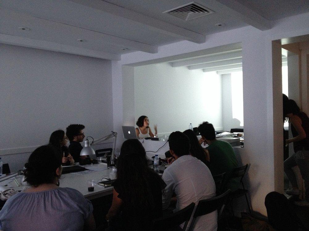 Ana Velez  .visiting artist (portugal)