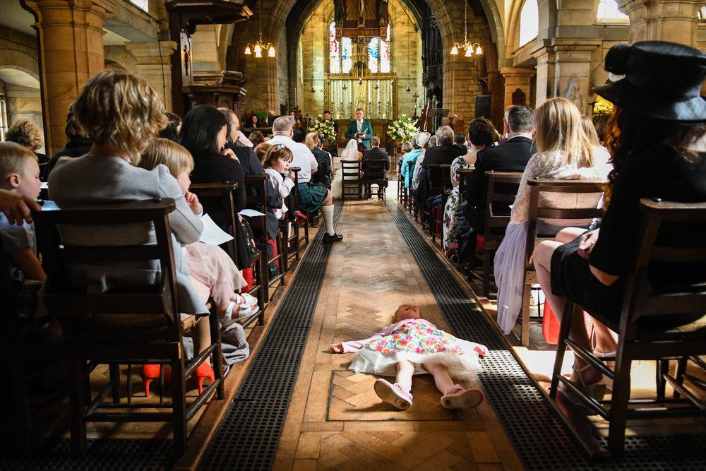 child on floor