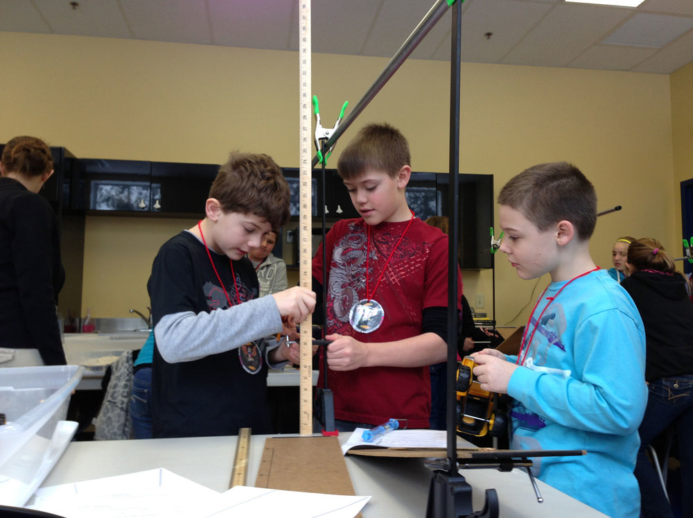 "Students become engineers as they build and experiment with various ""Simple Machines."""