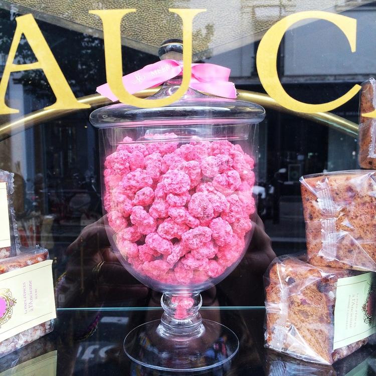 A sweet shop in the Saint Germain Des Pres