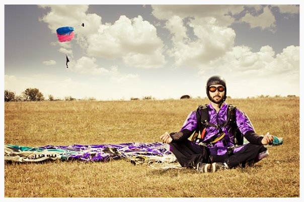 A moment of zen at Texas Skydiving in Central Texas. We are located near Austin, College Station, San Marcos, San Antonio, and Houston!