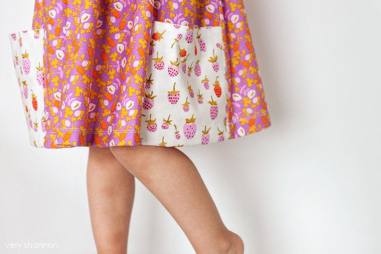 Sally Dress PDF Sewing Pattern — VERY SHANNON