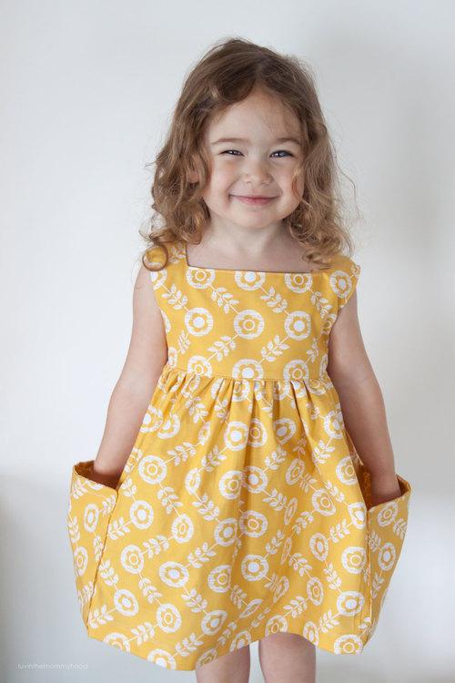 Sally Dress PDF Sewing Pattern
