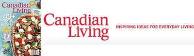 September 2012 issue of Canadian Living
