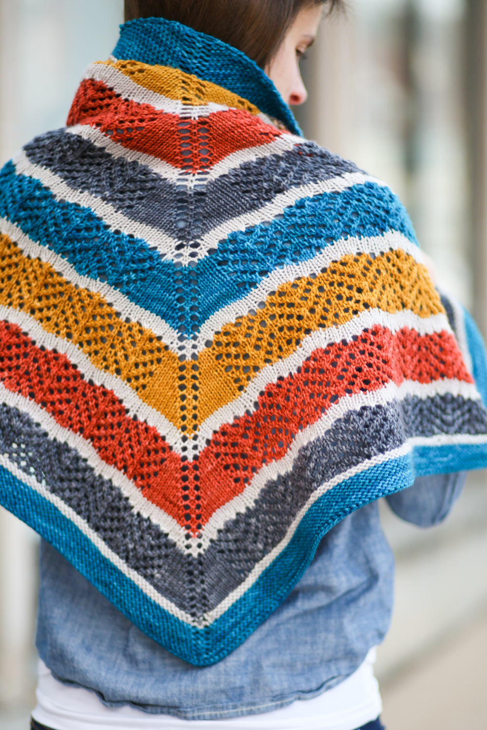 Lorelai Shawl by Very Shannon