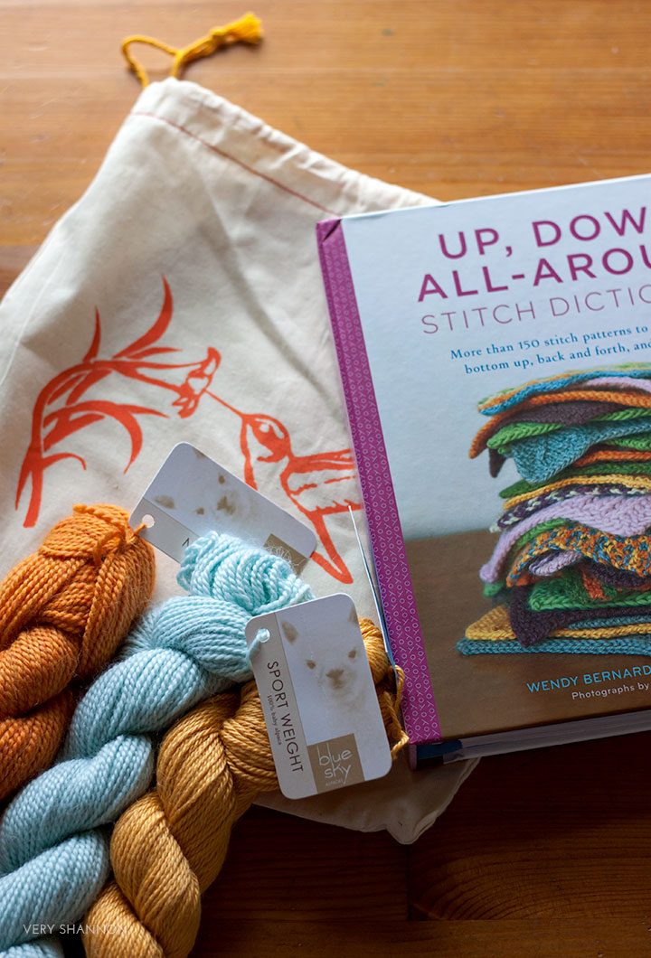 Winner of Up, Down, All-Around Stitch Dictionary & Blue Sky Alpacas Giveaway!