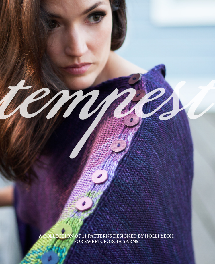 Tempest by Holli Yeoh book review on VeryShannon.com #tempestknit