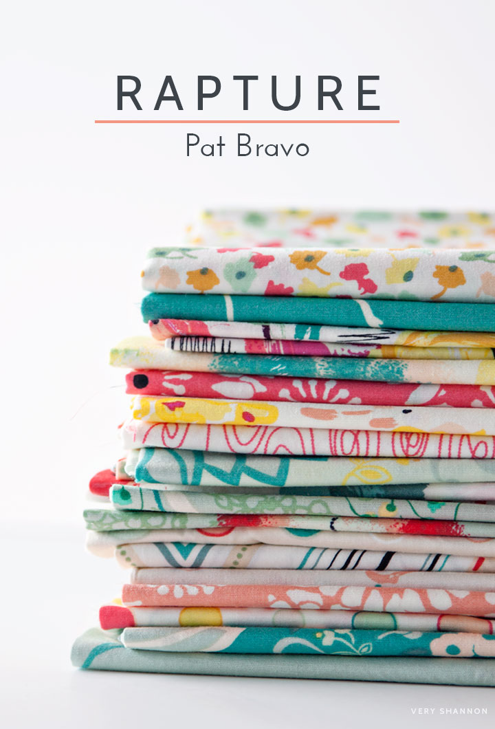 Rapture by Pat Bravo for #artgalleryfabrics || Very Shannon