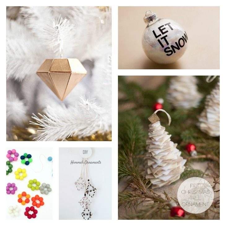 DIY Ornaments Roundup || Very Shannon