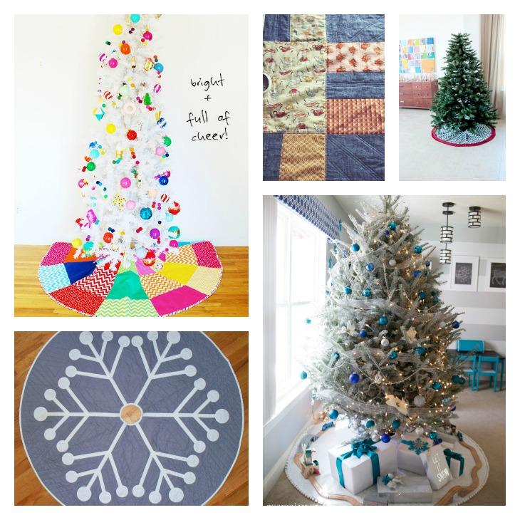 DIY Christmas Tree Skirt Roundup || Very Shannon