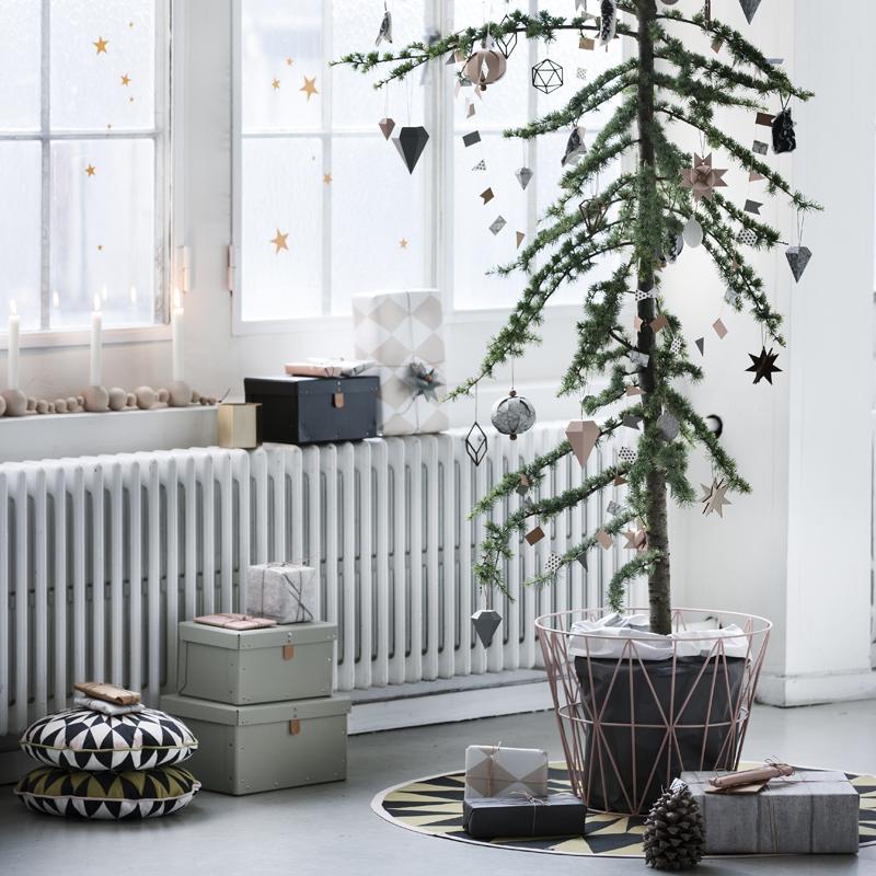 Fern Living Christmas Tree Blanket