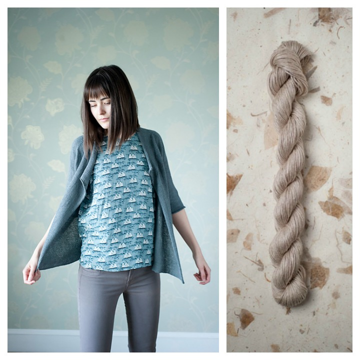 knitting with linen on luvinthemommyhood.com