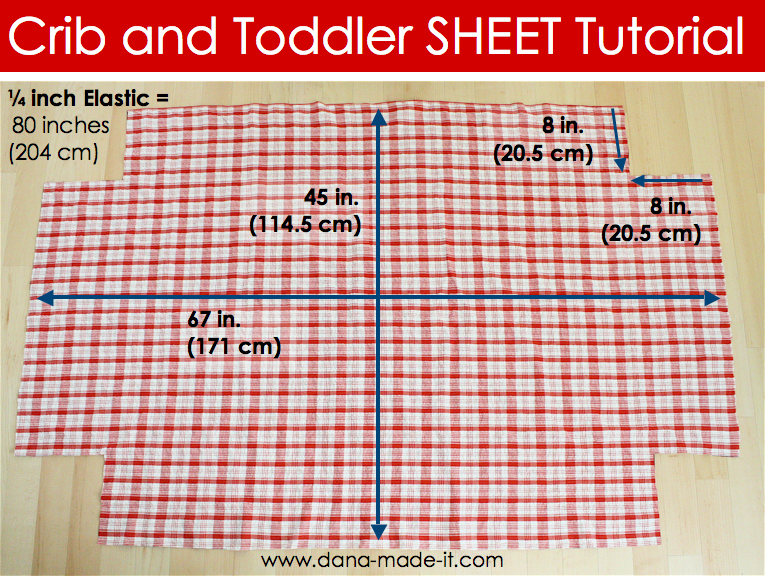 How To Make A Baby Crib Fitted Sheet
