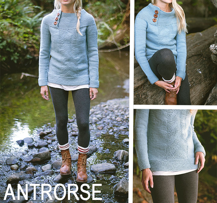 Antrorse Pullover Pattern || Very Shannon