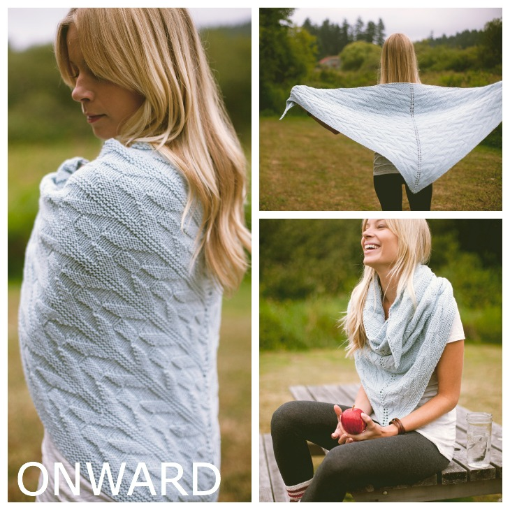 Onward Shawl Pattern || Very Shannon