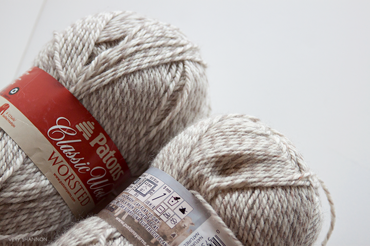 Patons Classic Wool Worsted - Stash Maintenance \\ Very Shannon