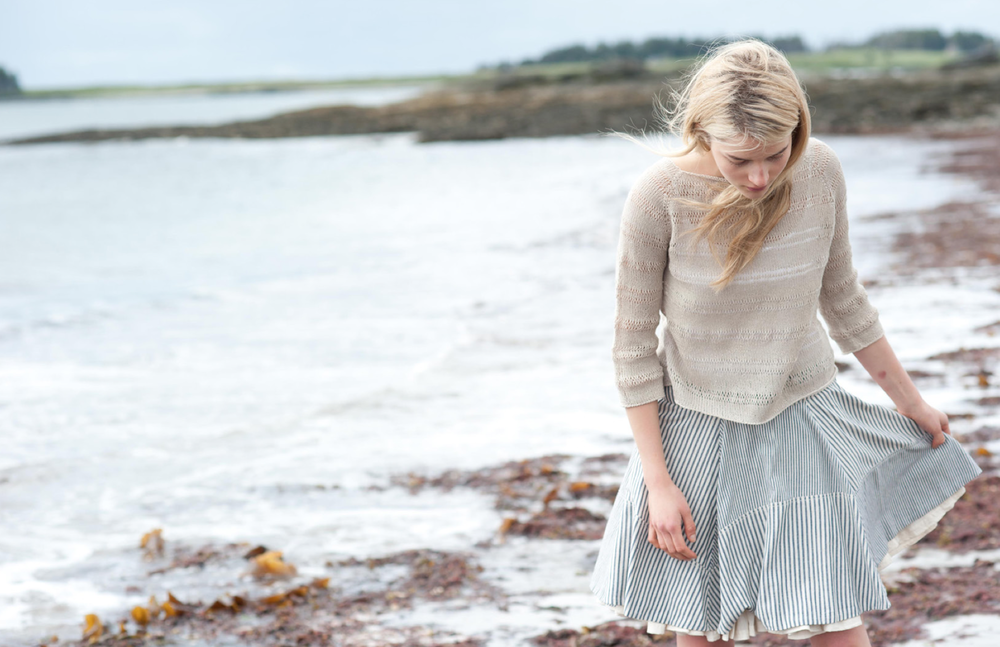 Perkins Cove Pullover by Pam Allen