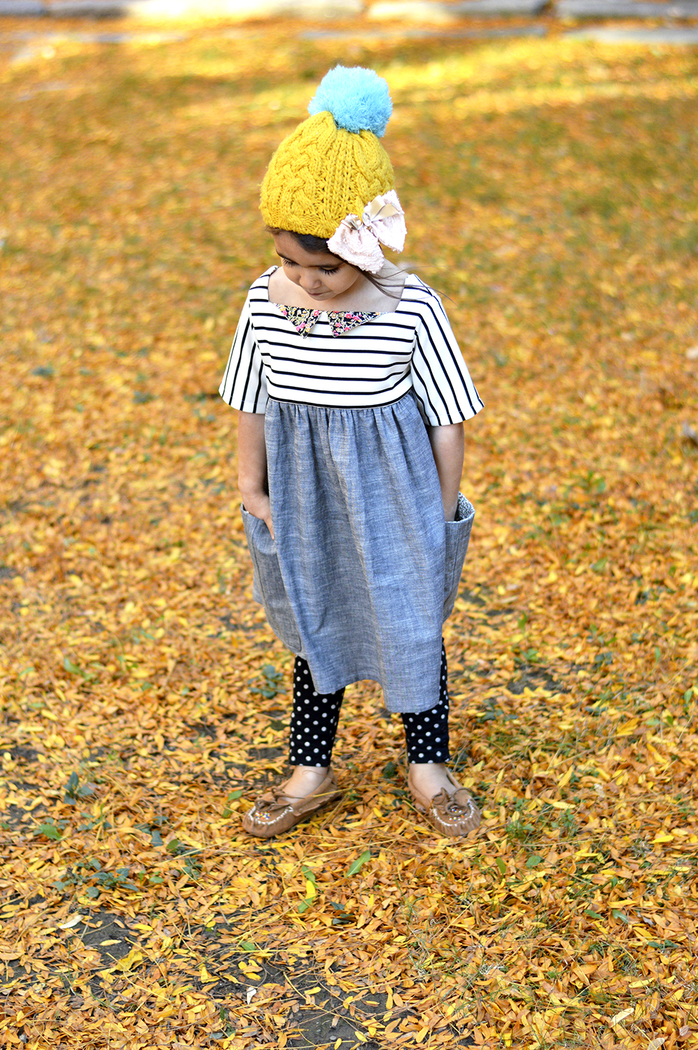 Sally Dress by Very Shannon \\ Sewn by Petit a Petit & Family