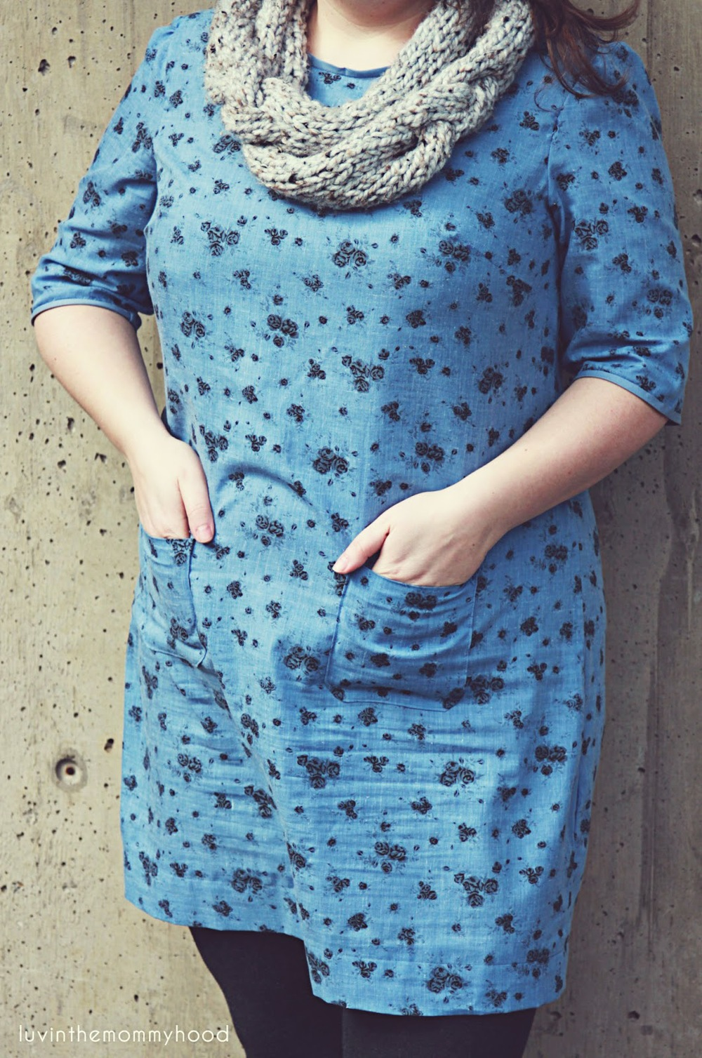 laurel dress made by luvinthemommyhood pattern by colette patterns