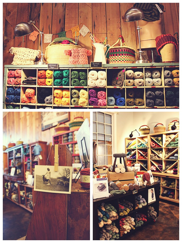 TOLT YARN & WOOL SHOP // VERYSHANNON.COM