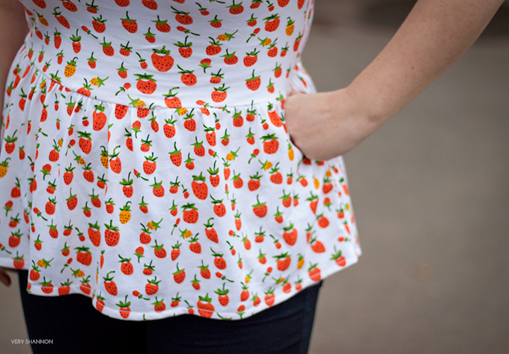 Penelope Peplum by See Kate Sew \\ Sewn by Very Shannon