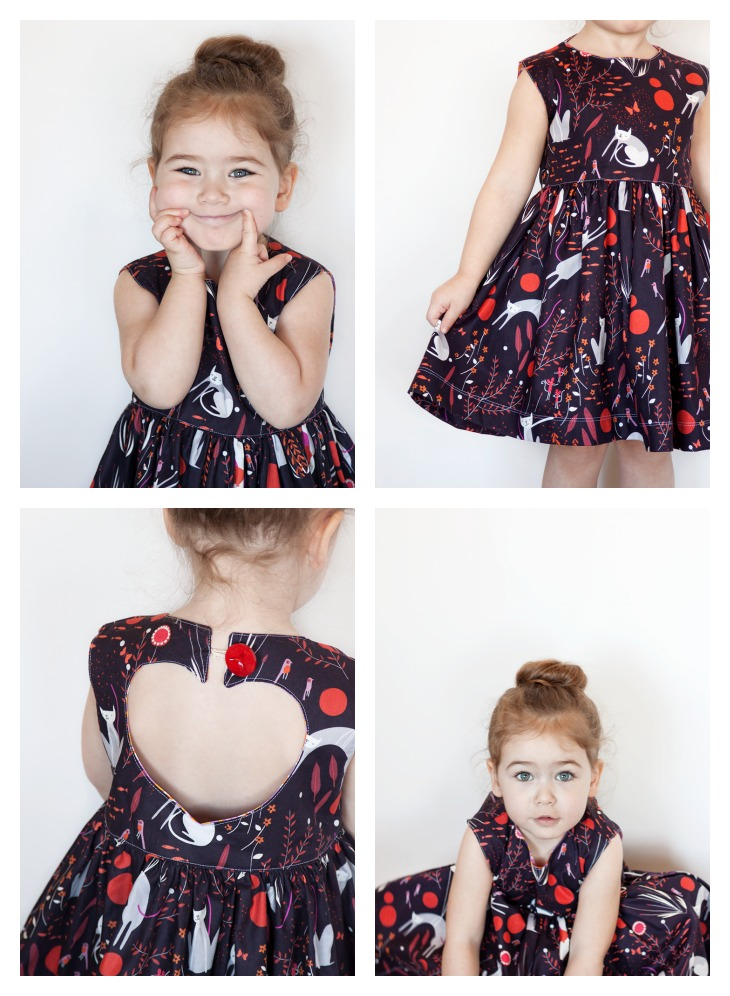 Sweetheart Dress Pattern by Very Shannon