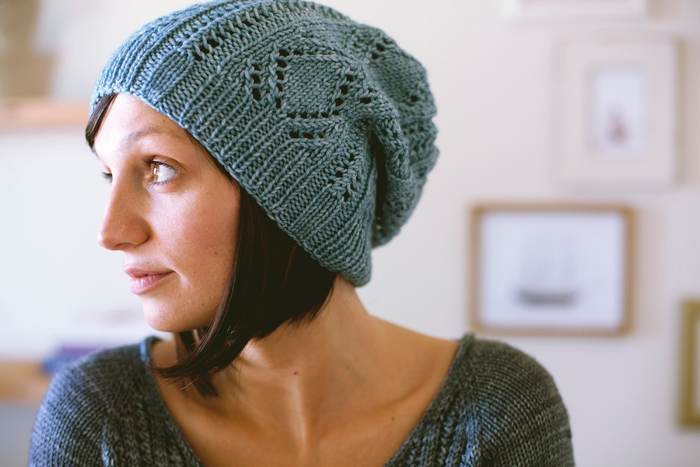 SEASONLESS | Mini Collection Volume One eBook. Schwimmen hat pattern by Shannon Cook. #seasonlessknits #knitting #book