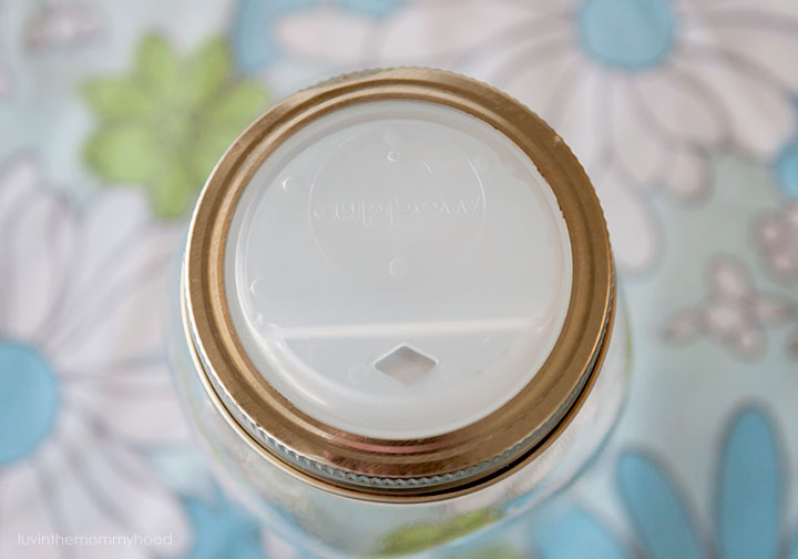 cuppow lid for mason jars