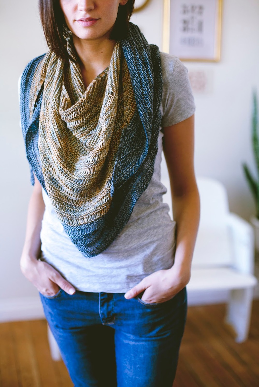 SEASONLESS | Mini Collection Volume One eBook. Laylow Shawl pattern by Shannon Cook. #seasonlessknits #knitting #book