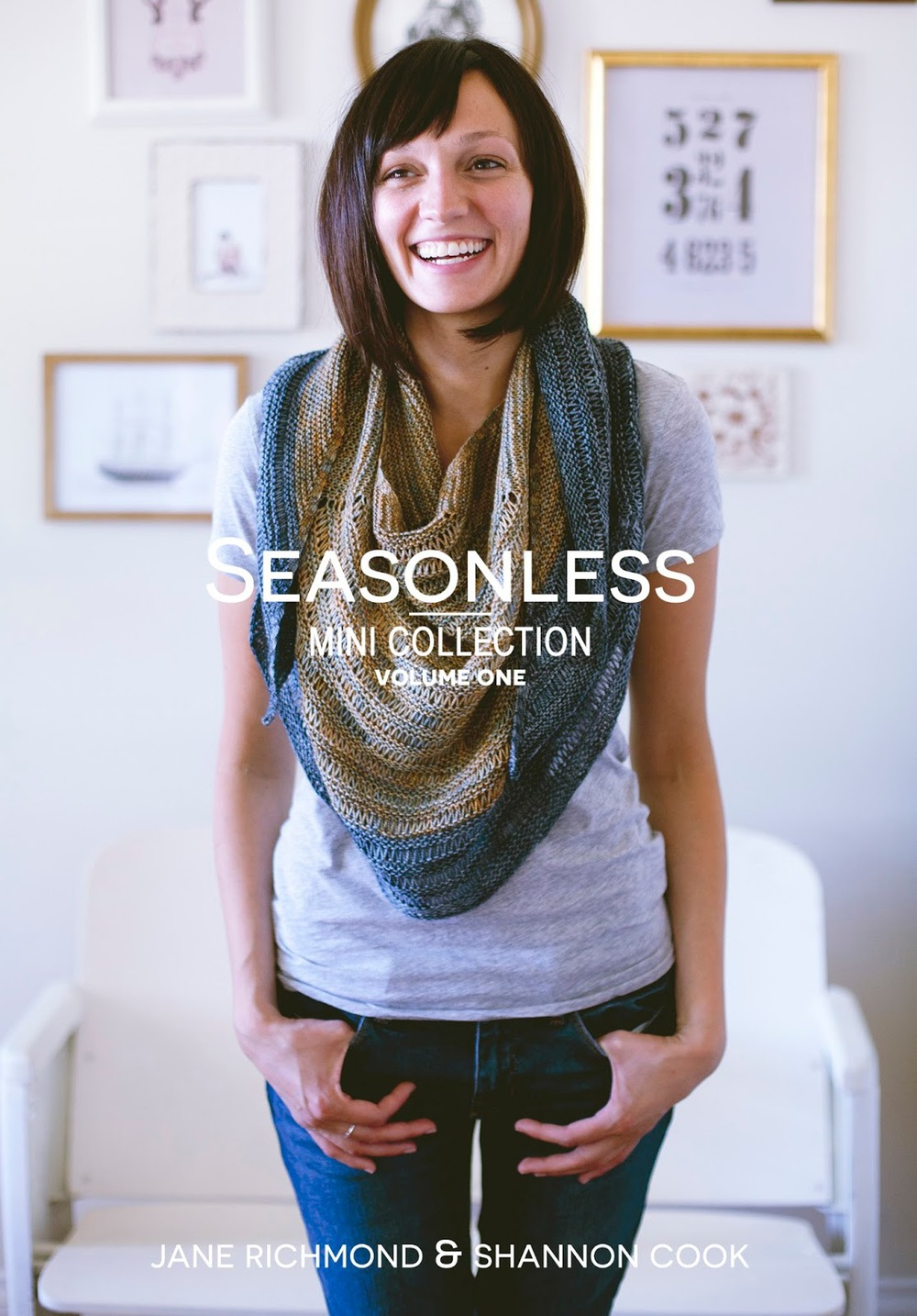 SEASONLESS | Mini Collection Volume One eBook by Shannon Cook and Jane Richmond. 3 modern, versatile and seasonless patterns from Marian Rae Publications. #seasonlessknits #knitting #book