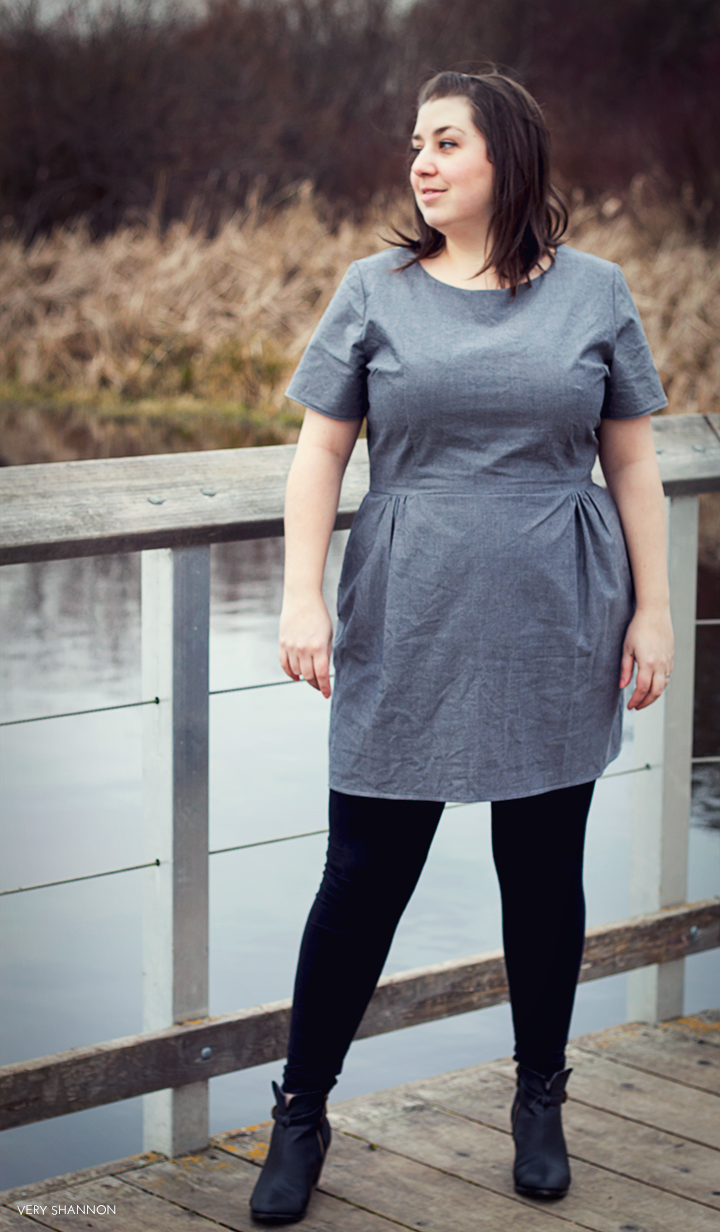 Sigma Dress by Papercut Patterns // Sewn by Very Shannon