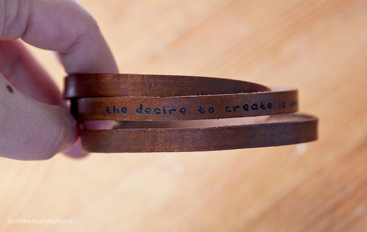desire to create bracelet by c. johanesen studio