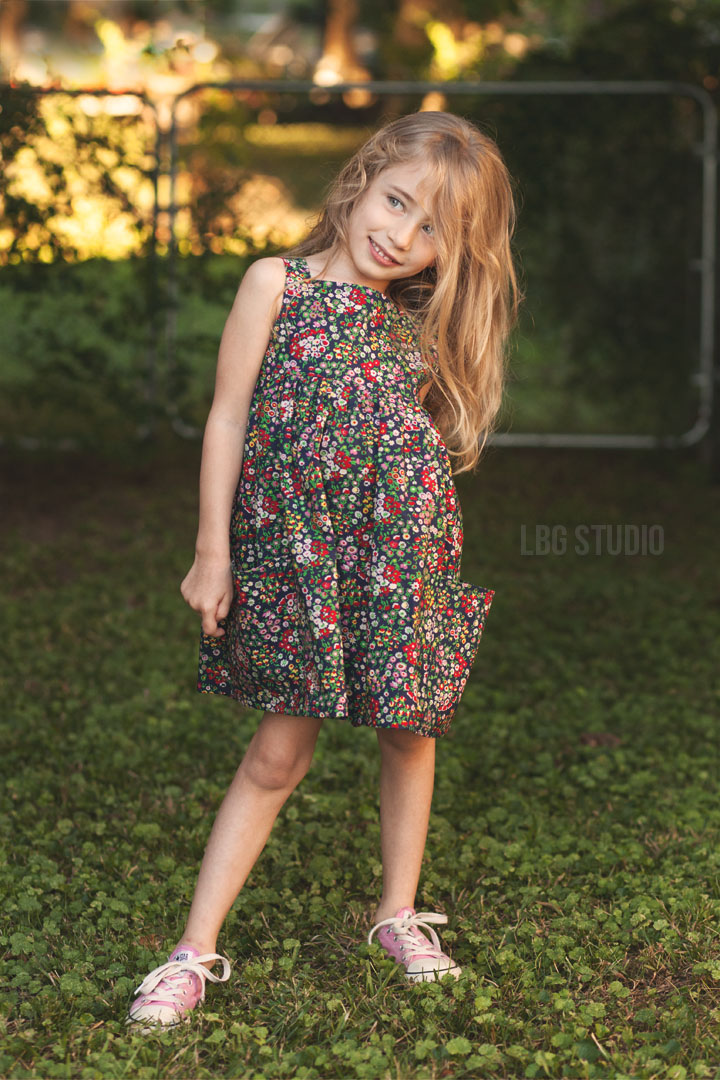 Sally Dress Pattern by Very Shannon || Sewn by LBG Studio