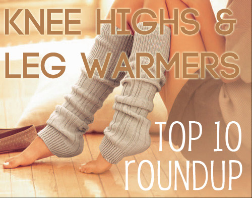 knee highs & leg warmers patterns - top 10 roundup — VERY SHANNON