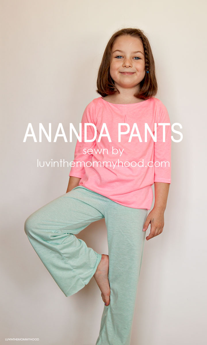 Ananda Pants pattern by Chopstix Patterns sewn by luvinthemommyhood.com