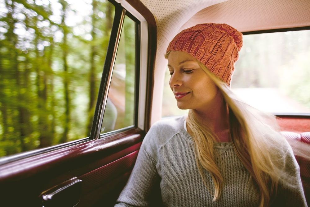 Swift Hat pattern by Shannon Cook from the book #JOURNEY