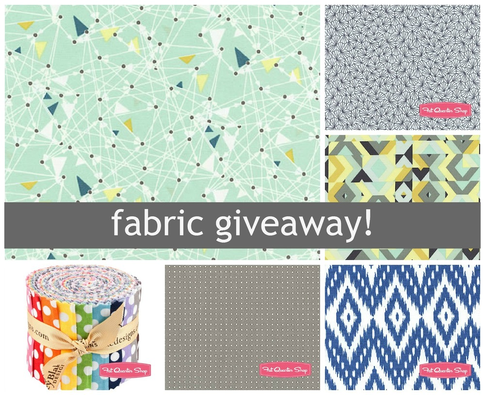 Fat Quarter Shop Fabric Giveaway on luvinthemommyhood.com