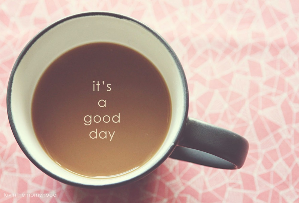 it's a good day by shannon cook ||  luvinthemommyhood.com