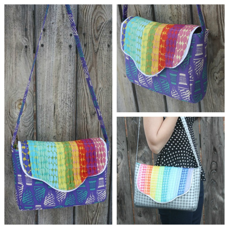 Accordian Bag by Sew Sweetness