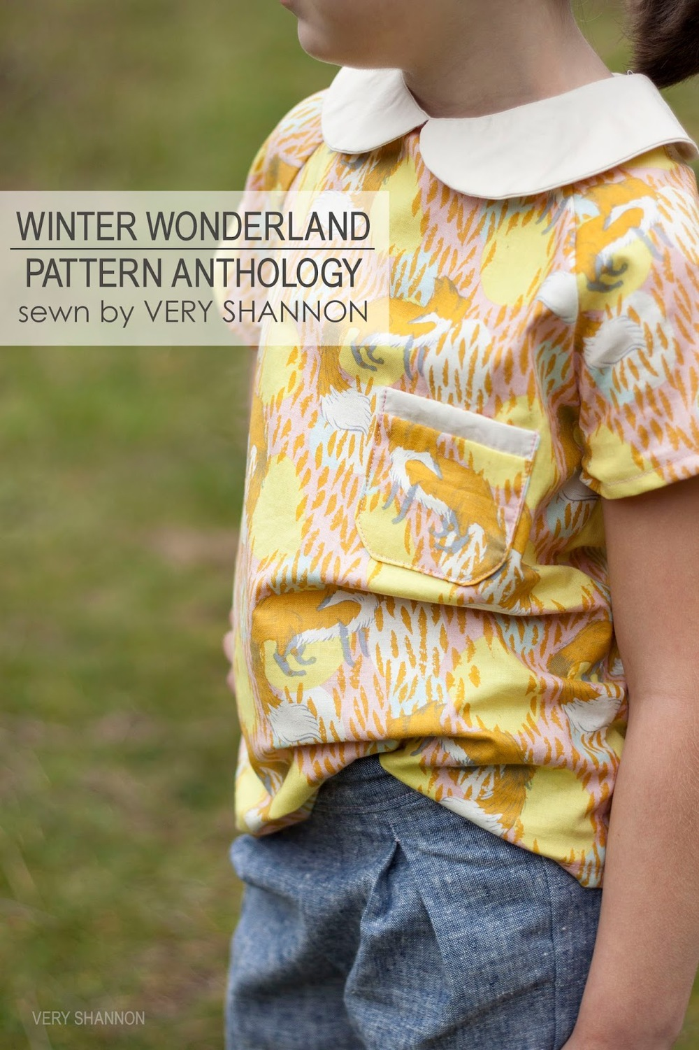 Sweet Bonnie Top & Holly Trousers from Pattern Anthology Winter Wonderland Tour || sewn by veryshannon.com