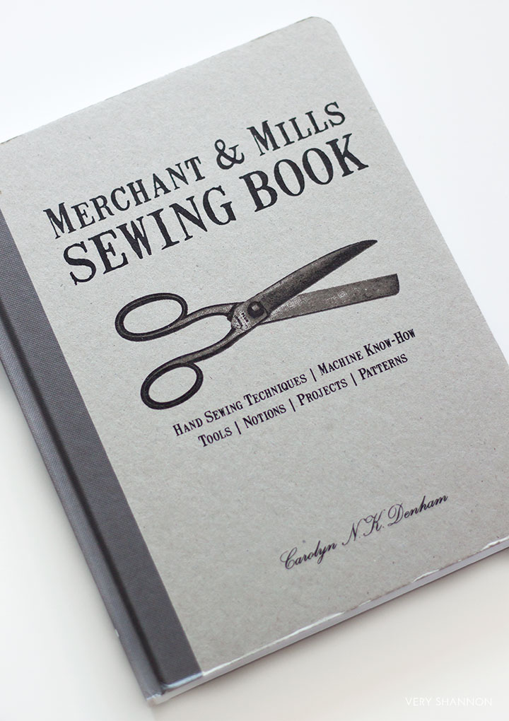 Merchant & Mills Sewing Book // Review on VeryShannon.com