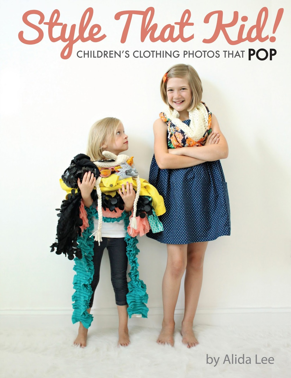 Style that Kid: Children's Clothing Photos that Pop by Alida Lee || VeryShannon.com