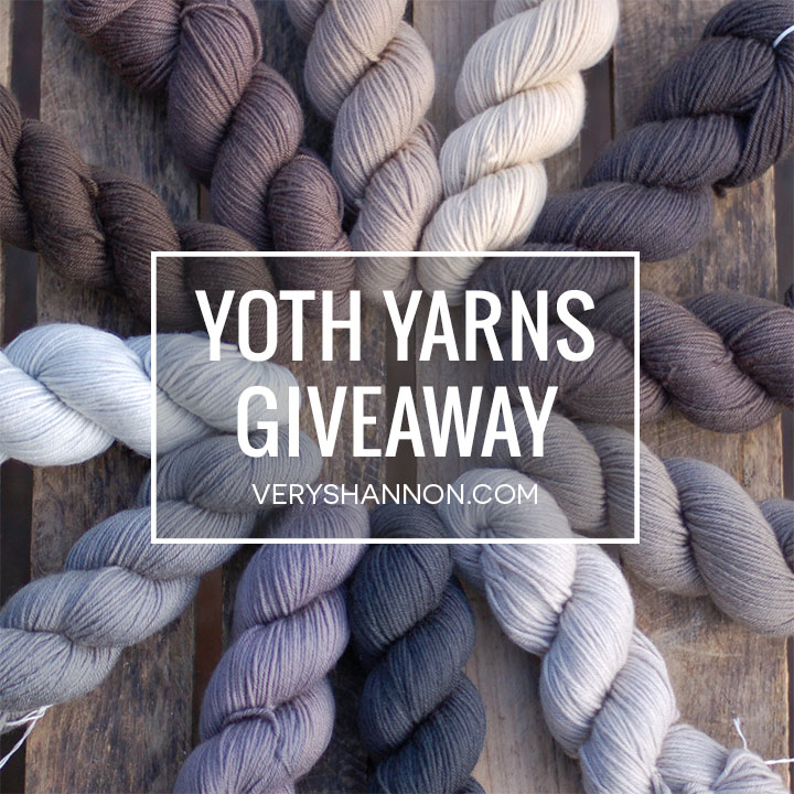 YOTH Yarns Review & Giveaway on VeryShannon.com!