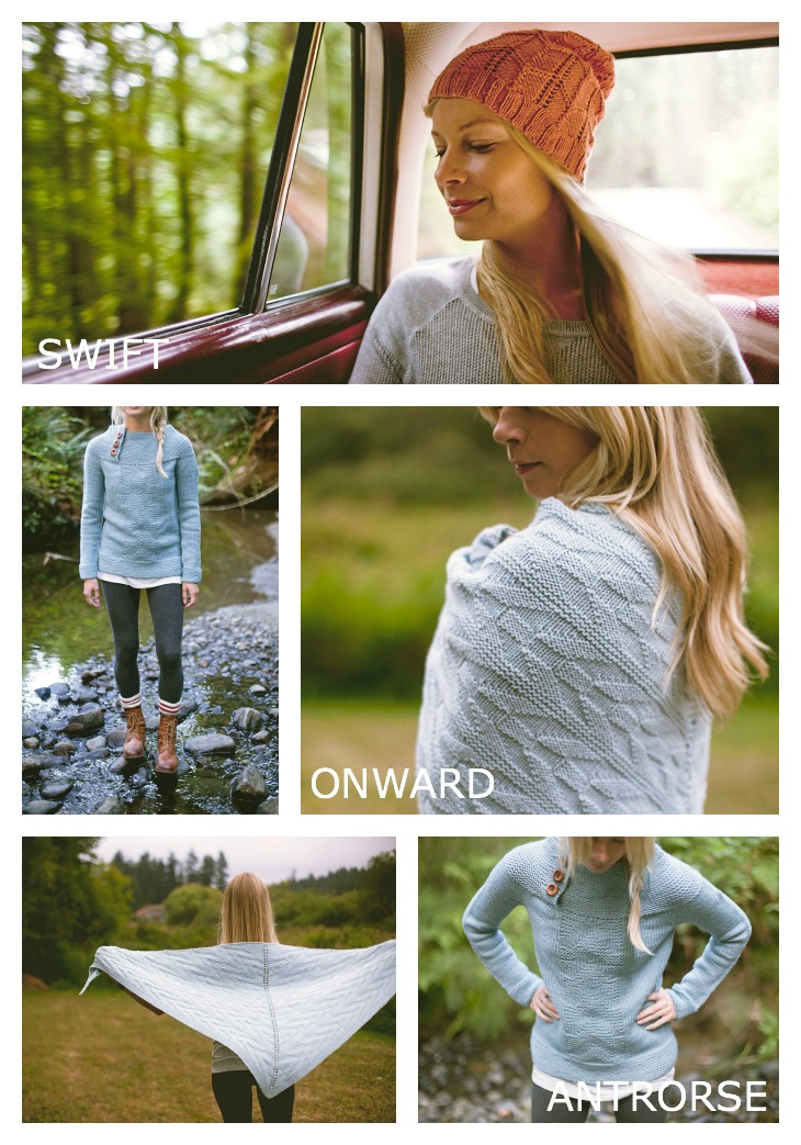 Swift || Onward || Antrorse from the new knitting book JOURNEY by Shannon Cook & Jane Richmond