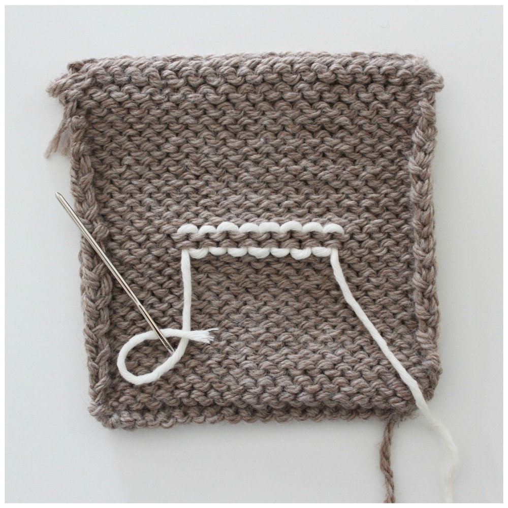 Weaving in ends with guest Jane Richmond || VeryShannon.com #sskal14 #knitting