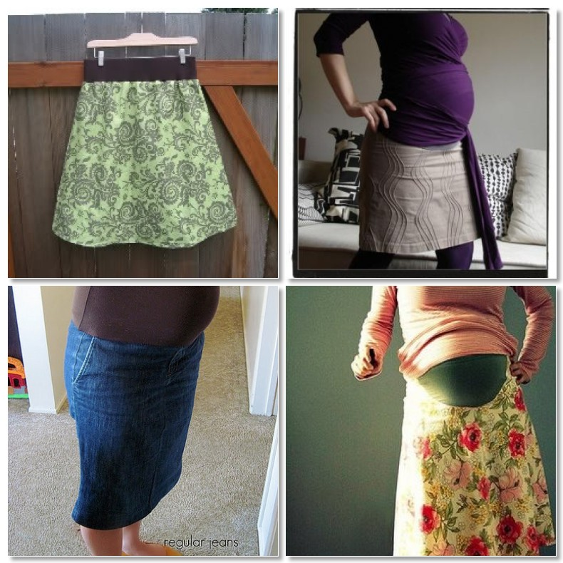 f09a453fd1c64 3) refashioned jeans to maternity skirt from homemade by jill 4)  refashioned maternity skirt from pink picket fence more tutorials: