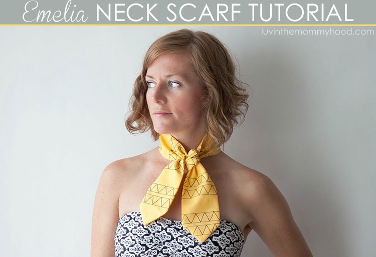 Emelia Neck Scarf Tutorial